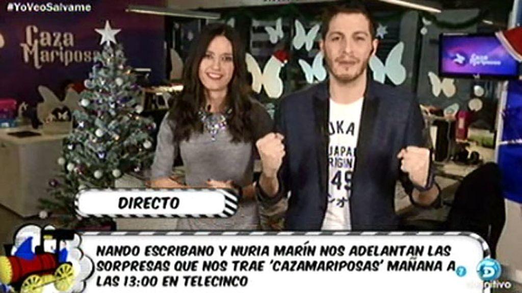 'Cazamariposas' también apoya a 'Sálvame'
