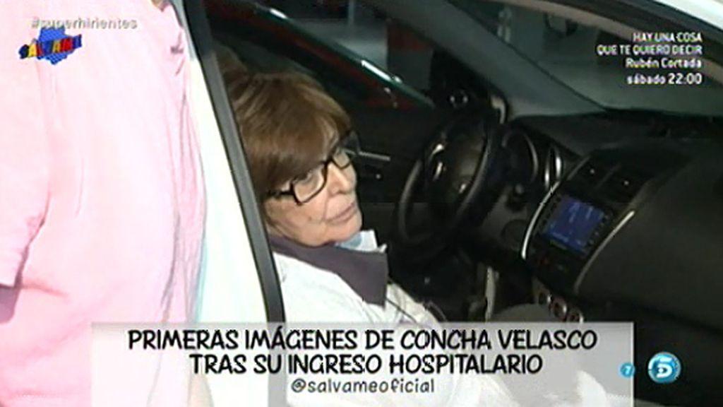 Primeras imágenes de Concha Velasco tras su ingreso hospitalario