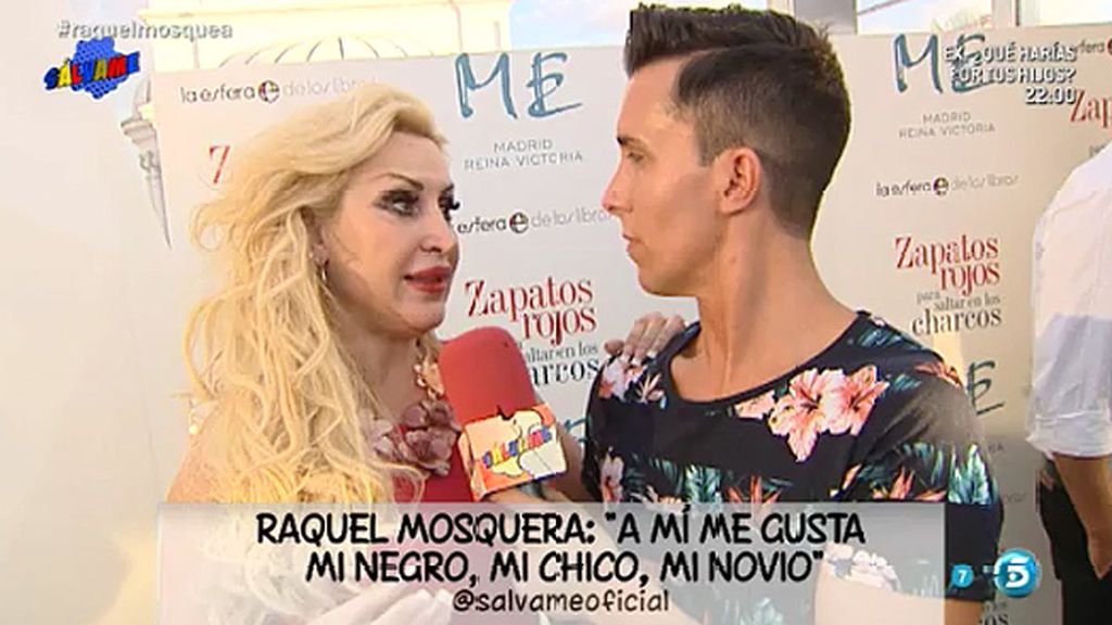 """Raquel Mosquera: """"Estoy enamorada y feliz"""""""