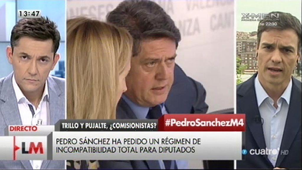 """P. Sánchez, de Trillo y Pujalte: """"Tenían que haber abandonado ayer mismo"""""""