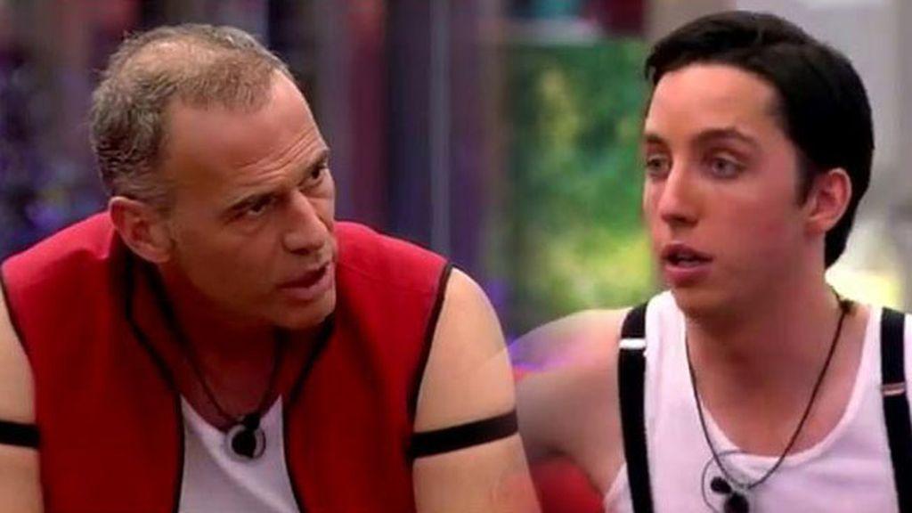 """Fran, sobre Carlos: """"Es un sinvergüenza... No me apetece tener una guerra aquí"""""""