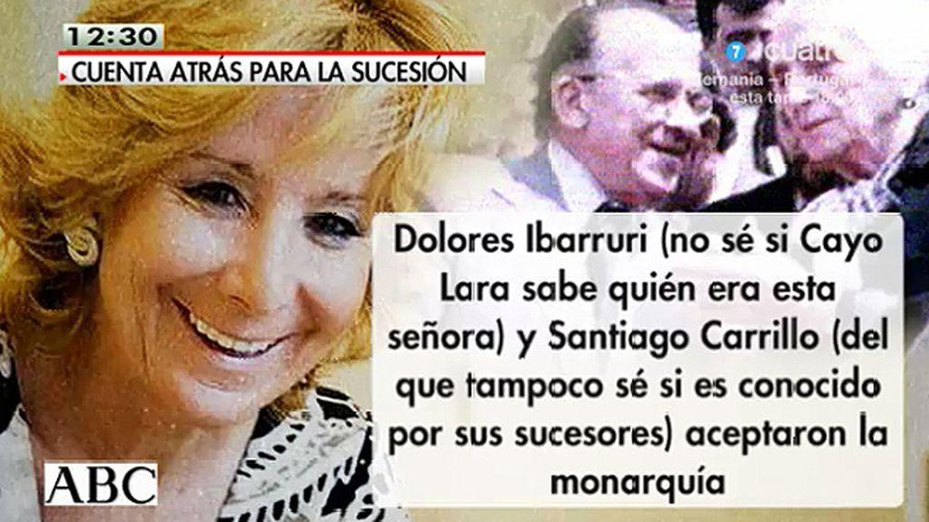 """Aguirre: """"Que los desmemoriados repasen la historia de la II República (…) fue un fracaso"""""""