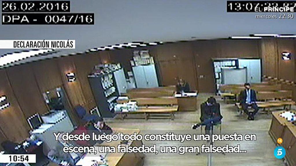 Francisco Nicolás declara durante 180 segundos y solo responde a su abogado