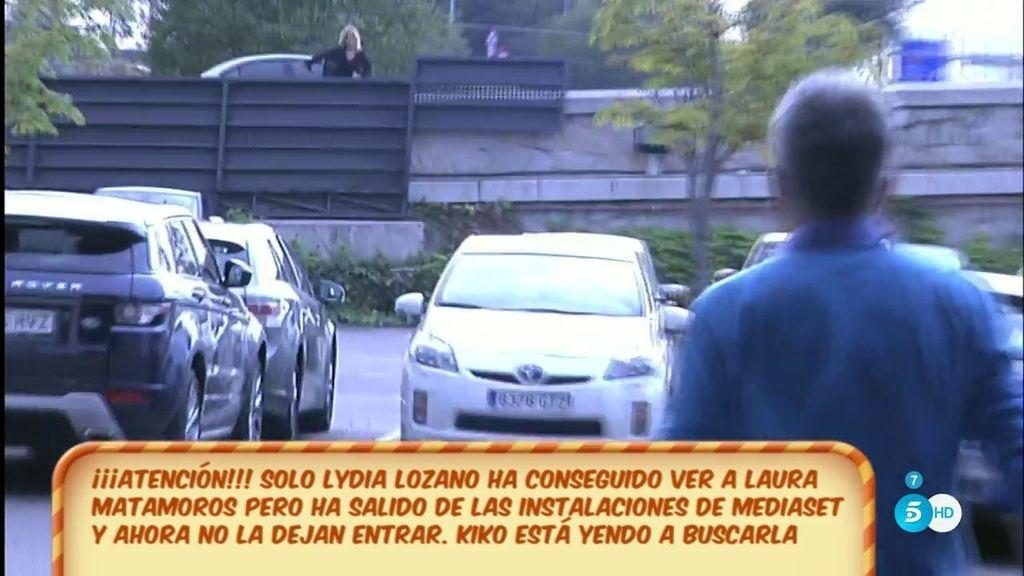 Lydia sale de Mediaset buscando a Laura Matamoros y no puede volver a entrar