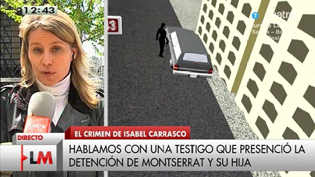 """Olga Fernández, testigo de la detención: """"La tranquilidad era total"""""""
