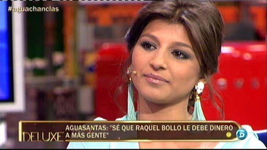 """Aguasantas: """"He visto a Raquel Bollo se me ha hecho un nudo en el estómago"""""""