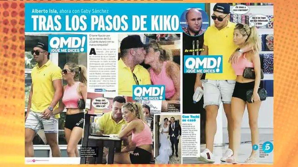 Primeras imágenes de Alberto Isla y Gaby Sánchez, en 'QMD!'