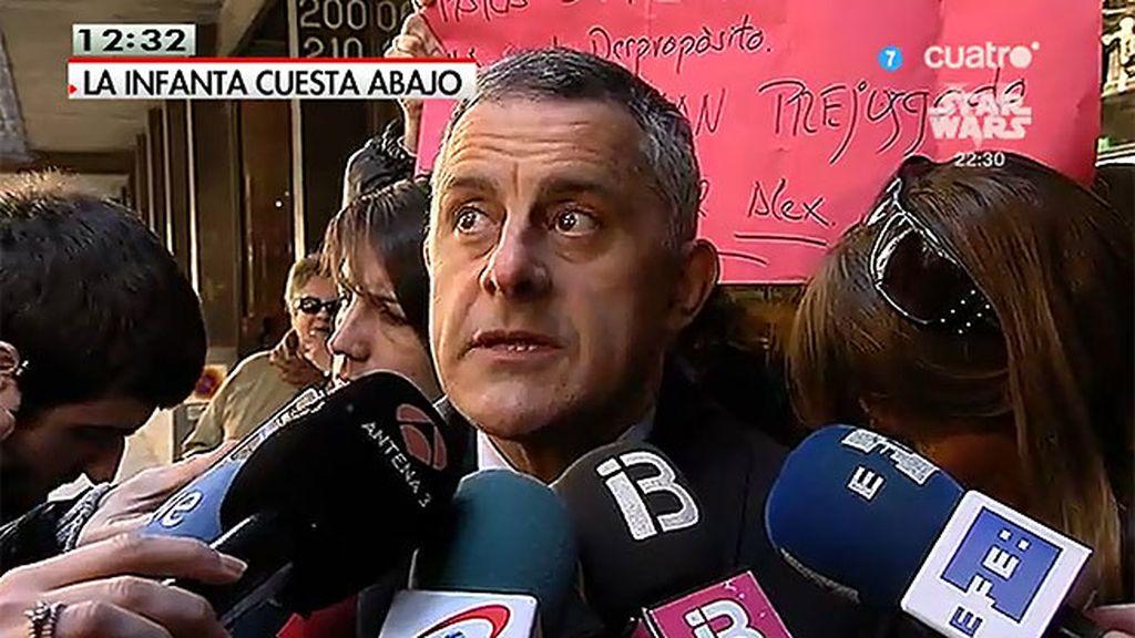"""""""La Infanta no ha tenido responsabilidad ninguna en los delitos que le imputan"""""""