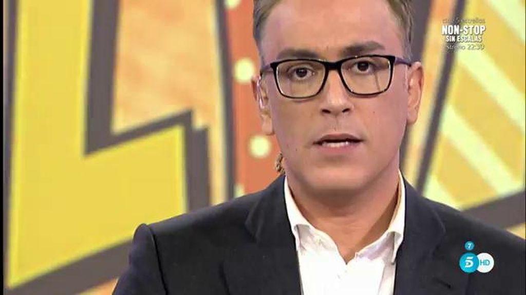 """Kiko H: """"La organización de 'Supervivientes' pone en duda la ciática de Antonio Tejado"""""""
