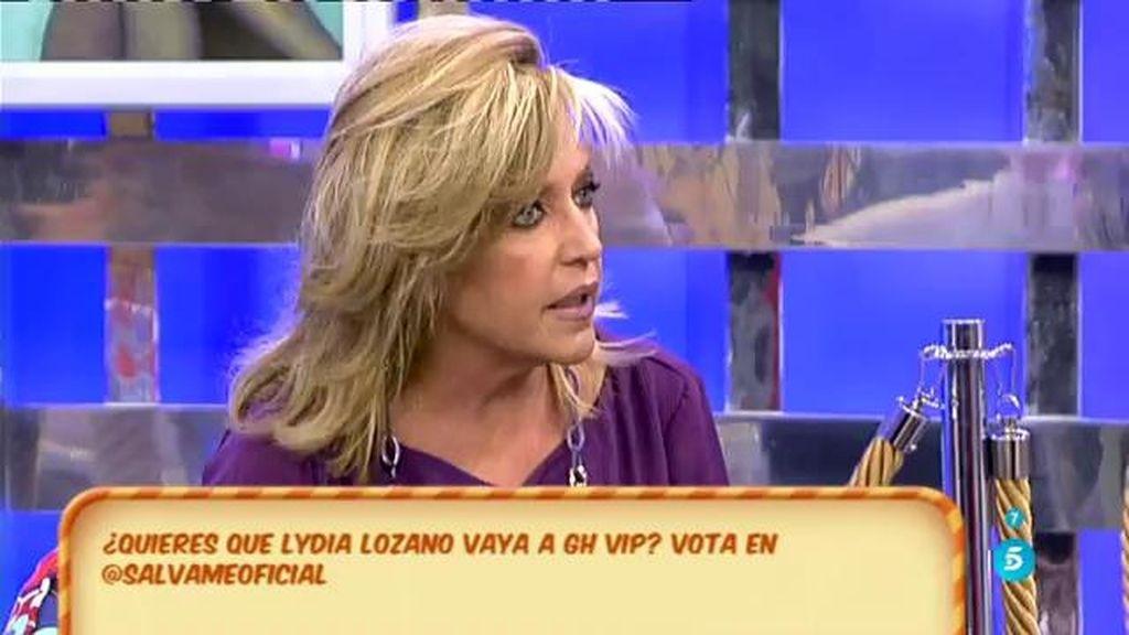 """Lydia Lozano, sobre 'GH VIP': """"No me veo"""""""