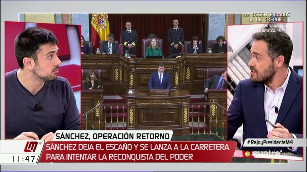 """Felipe Sicilia (PSOE): """"El discurso de Rufián fue miserable y ruin"""""""
