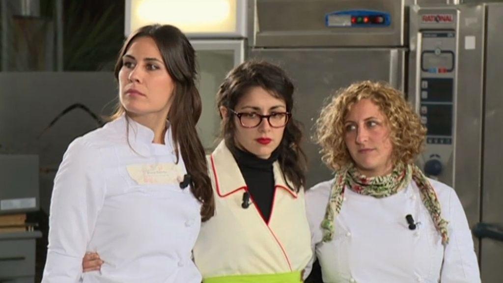 David expulsa a Carla e Isabel y entra con Marta al Obrador