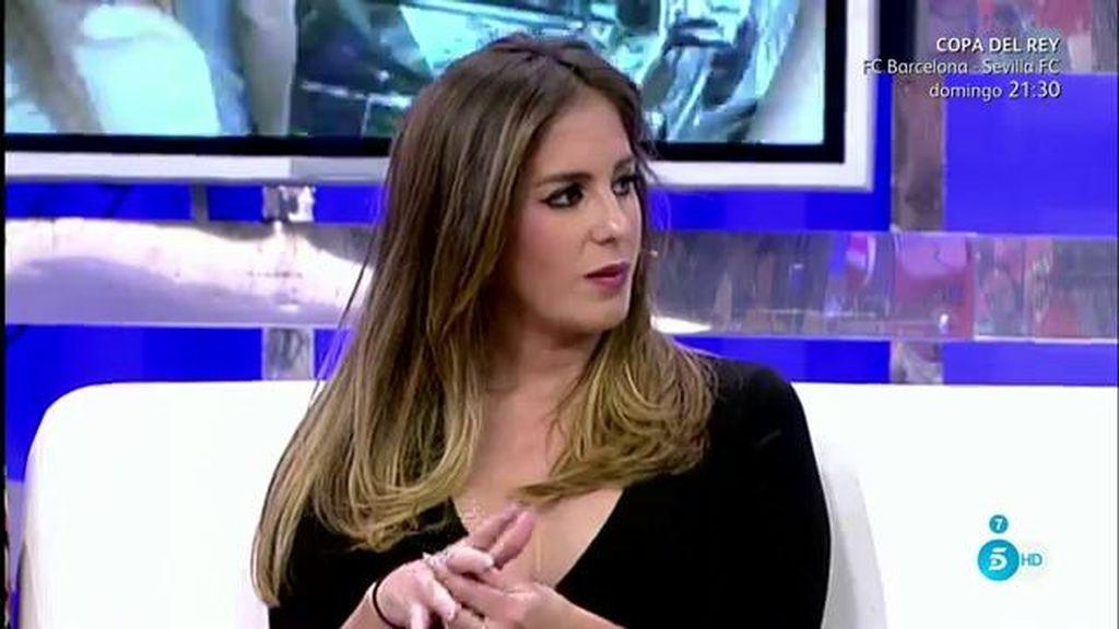"""Anabel Pantoja, de la ruptura de su prima y Alejandro: """"Ha sido un cúmulo de cosas"""""""