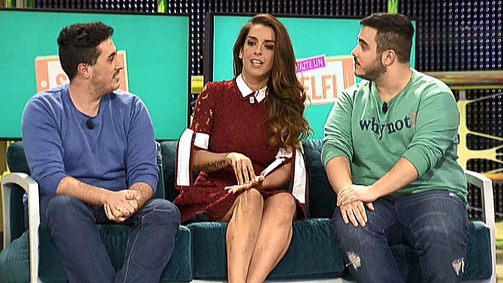Ruth Lorenzo les ha dado la sorpresa de su vida a Miguel y Álex en 'Hazte un selfi'