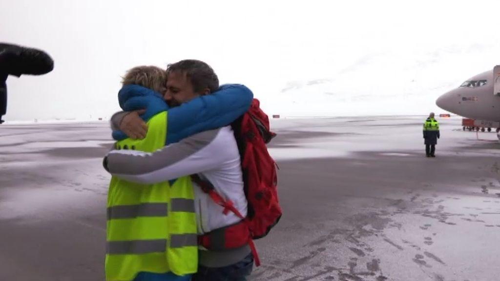 """José Mota, al llegar al Ártico: """"¡Qué belleza!"""""""