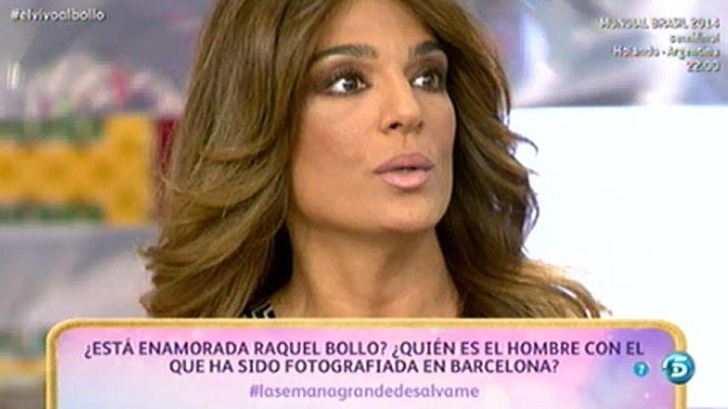 """Raquel Bollo: """"Si tuviera novio, sería la primera persona en decirlo"""""""