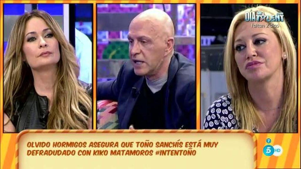 """Kiko Matamoros: """"En el terreno de la amistad con Toño Sanchís, me resbala todo"""""""