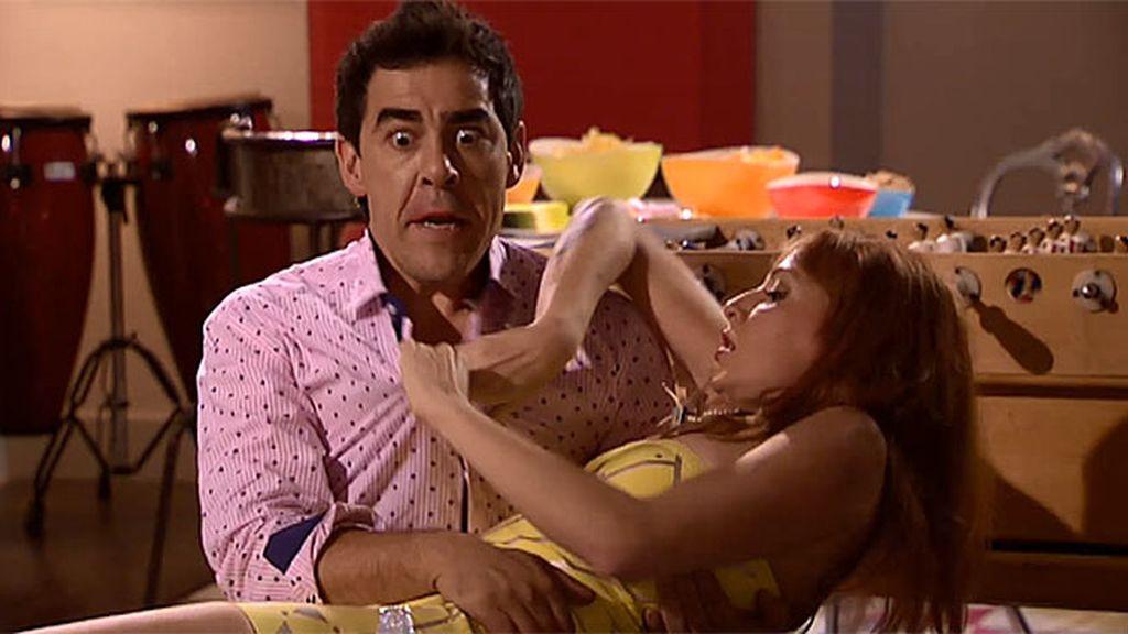 Así fue el 'pinchito' de Amador y Judith