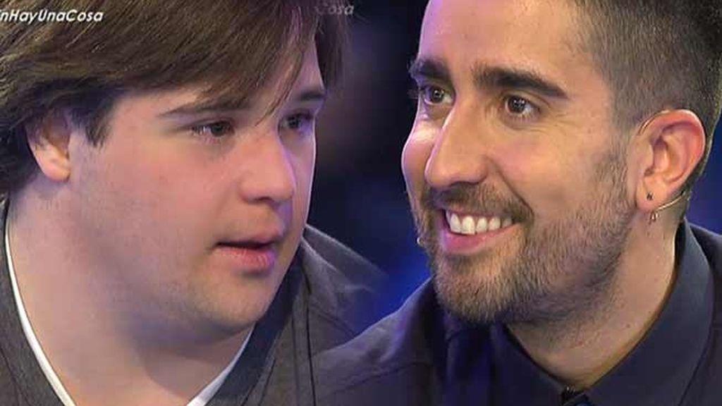 """Mario, a Álex Ubago: """"Quiero ser como tú, eres el mejor cantante del mundo"""""""