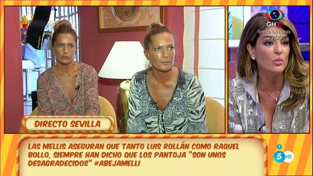"""Raquel Bollo, a Las Mellis: """"Os he querido de verdad y respeto a vuestra familia, no entraré en una guerra que no me corresponde"""""""