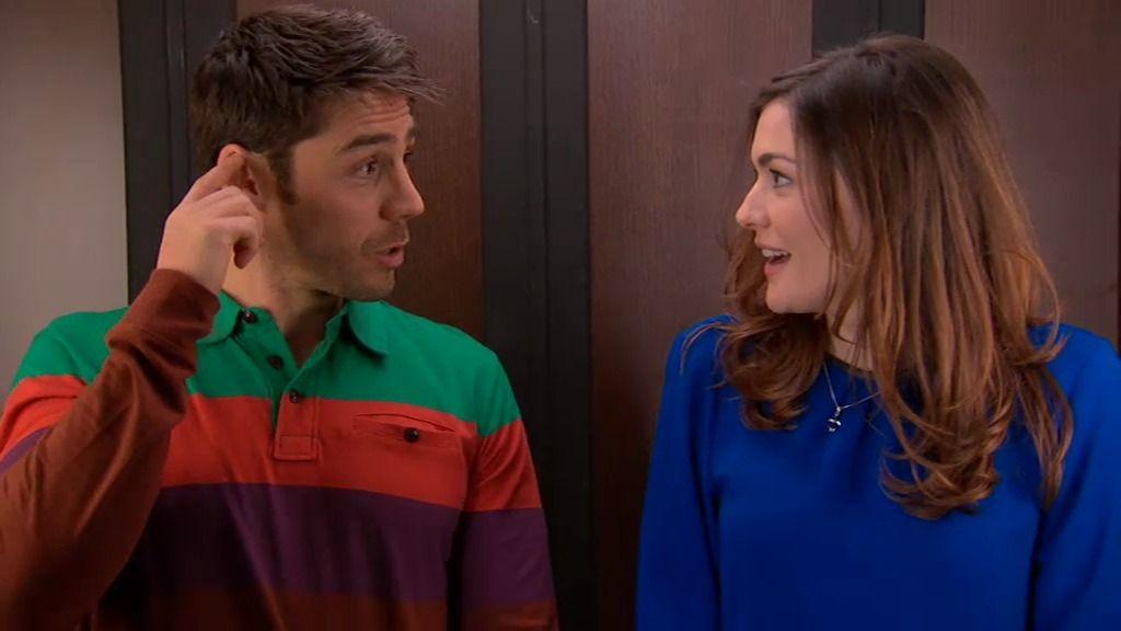 Natalia y Raúl, otra vez en el ascensor