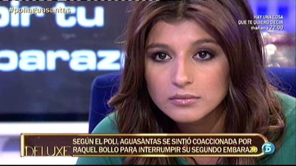 A Aguasantas le consta que Raquel Bollo tuvo una relación con un hombre casado