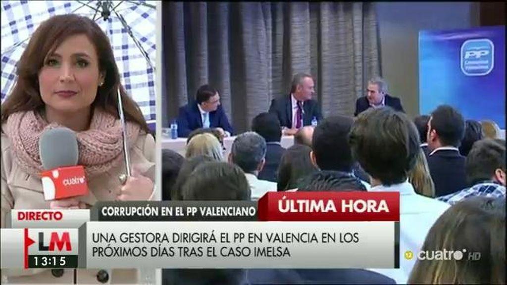 Una gestora dirigirá el PP en Valencia