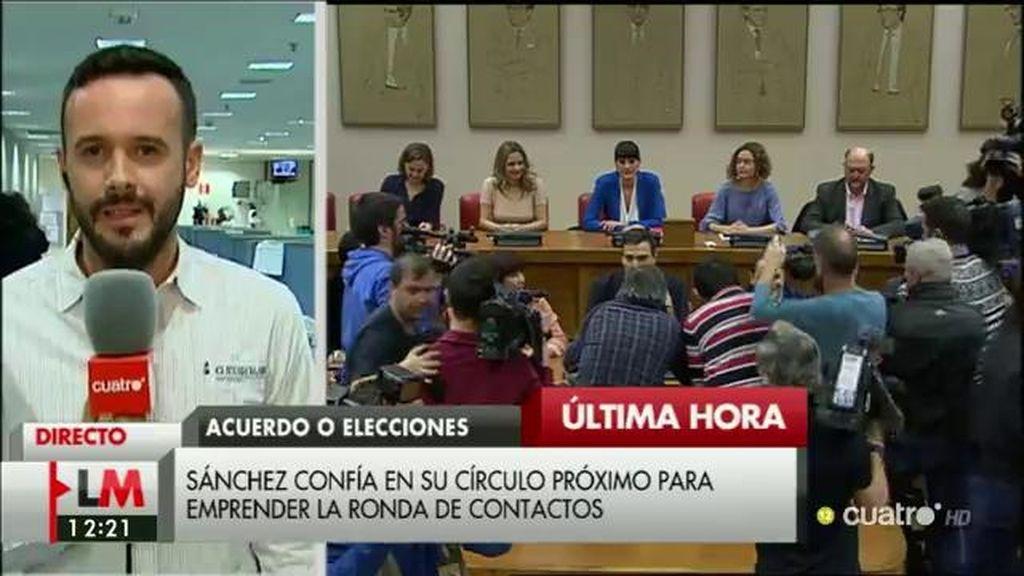 Los nombres propios del equipo de negociación del PSOE