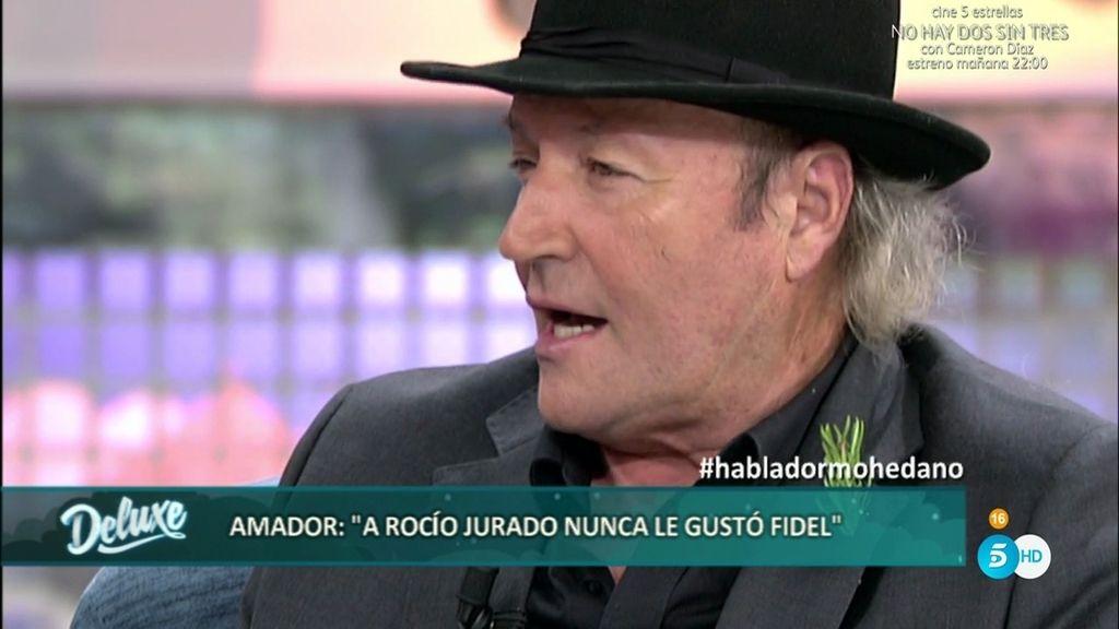 "Amador Mohedano: ""Me siento despreciado por Rocío Carrasco"""