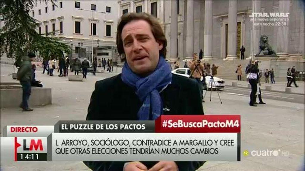 """Luis Arroyo: """"Es muy probable que la gente apoye al PP para garantizar una mayoría"""""""