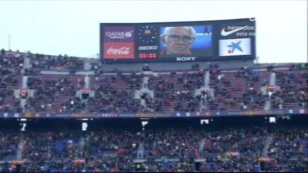 Silencio en los estadios por Luis Aragonés