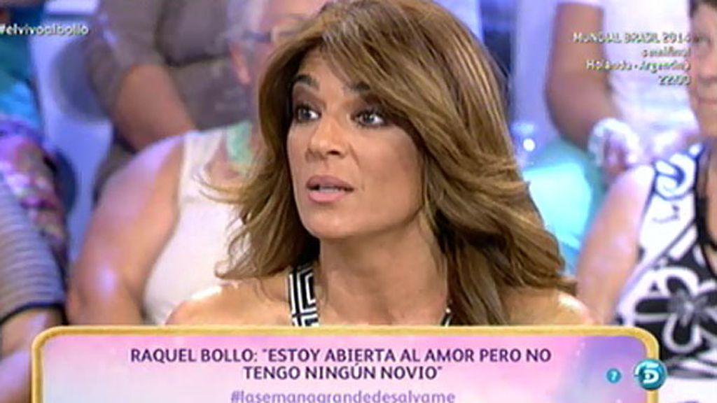 """Raquel Bollo: """"Hace unos meses tuve una ilusión sentimental, pero se esfumó"""""""