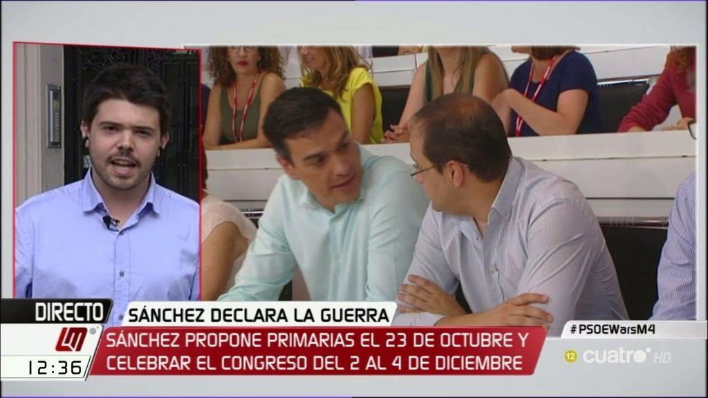 """Nacho Corredor: """"Estamos viendo una batalla por ver quién lidera el poder del PSOE"""""""