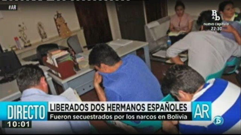 Liberan a dos menores españoles secuetrasdos en Bolivia por narcos