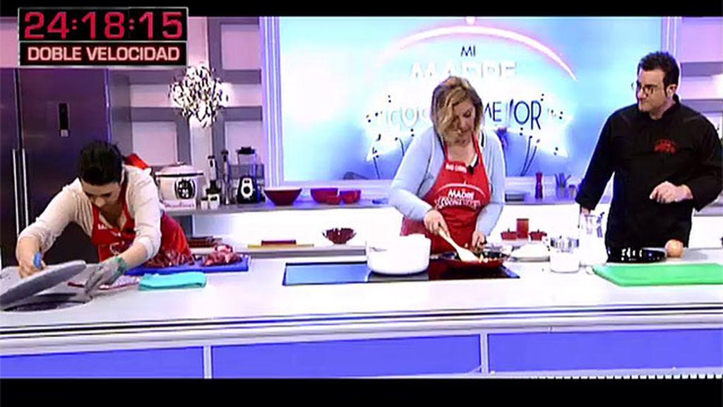 La receta de Maricarmen: fricandó a la catalana con puré de patata