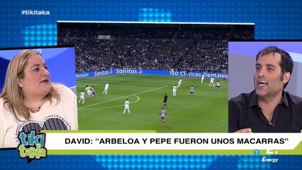 """""""Arbeloa no tiene que ir a la selección porque no tiene calidad futbolística ni humana"""""""