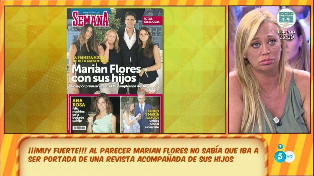 """Belén habla con Laura Matamoros: """"Mi hermano no es nadie para entregar una foto"""""""
