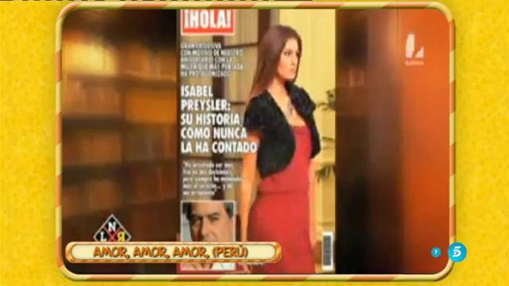 En el programa 'Amor, amor' de Perú hacen una parodia de la relación de Mario e Isabel