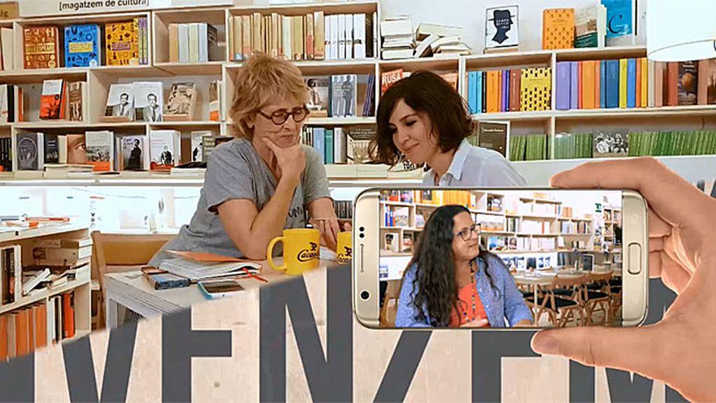 La escritora Cristina Campos, en 'Convénzeme' recomienda a su musa Allende