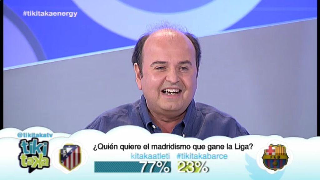 """J. Rodríguez: """"Mi sueño es que un ovni se lleve el Camp Nou y construyan un hotel"""""""