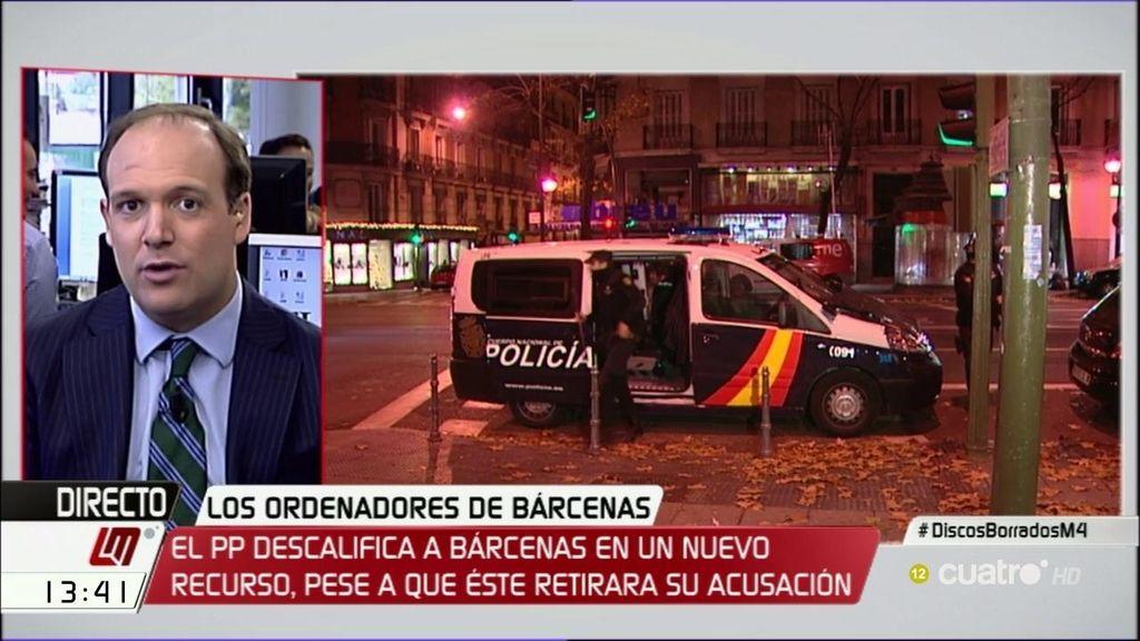 """Esteban Urreiztieta, de Bárcenas: """"Lo único que tiene para sostener que existía la contabilidad B es su palabra"""""""