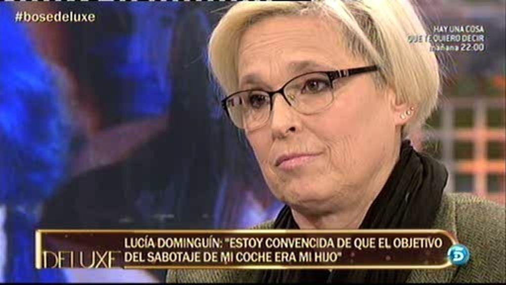 """Lucía Dominguín: """"Han intentado que tuviera un accidente con el coche"""""""