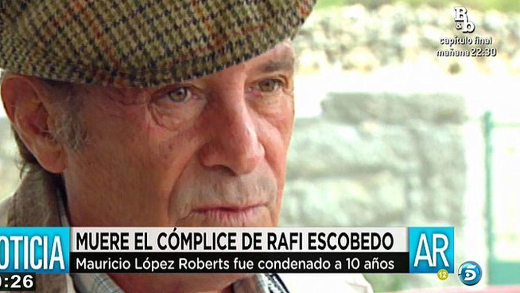 Muere Mauricio López Roberts, cómplice de Rafi Escobedo en el crimen de los Marqueses de Urquijo