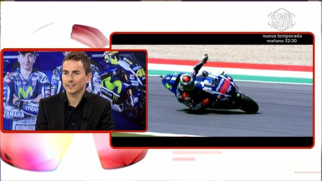 """Lorenzo: """"Visto el ritmo de Rossi, el final no hubiese cambiado sin la sanción"""""""
