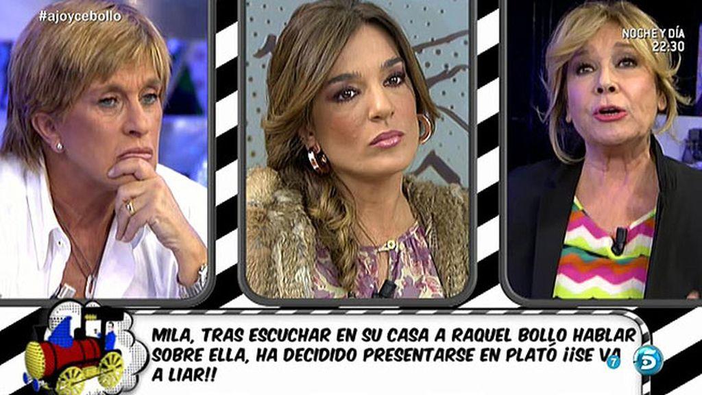 """Mila: """"Cuando me enfadé con Raquel Bollo, la que menos me frenó fue Chelo"""""""