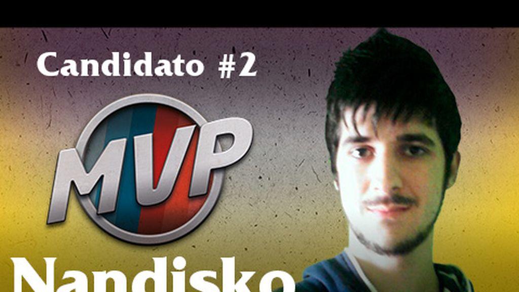 Nandisko para MVP (Jornada 8)