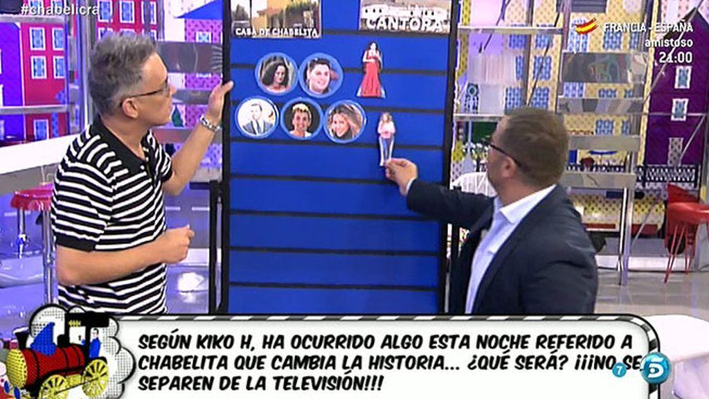 """Kiko H.: """"Chabelita estaba enamorada de dos personas, de Alberto y de Alejandro"""""""