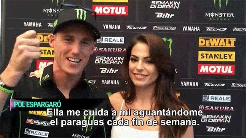 ¡Mandan un saludo al programa de 'Pecadores' desde MotoGP!