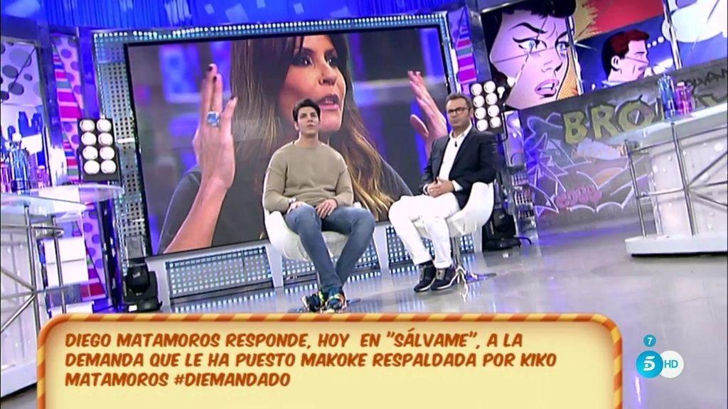 """Diego Matamoros, de su padre: """"Quiero que sea una relación sana"""""""