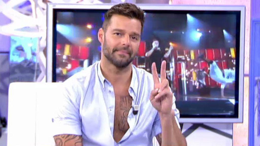 """Ricky Martin: """"Llevo muchos años trabajando en el bienestar de los niños"""""""